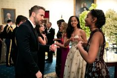 When Malia Was the Ultimate Wingwoman While Sasha Met Ryan Reynolds in 2016