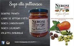 Sugo alla puttanesca... #neronitradizioneitaliana #madeinitaly #ciboitaliano #trasformazione #creme #patè #sughi