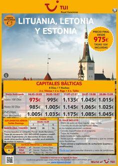 ¡Compra anticipada! Capitales Bálticas: Lituania, Letonia y Estonia. Precio final desde 975€ ultimo minuto - http://zocotours.com/compra-anticipada-capitales-balticas-lituania-letonia-y-estonia-precio-final-desde-975e-ultimo-minuto-5/