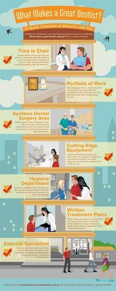 What Makes a Great #Dentist? Dentaltown - Patient Education Ideas.