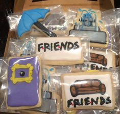 Friends TV Show Cookies | Practice What You Pinterest
