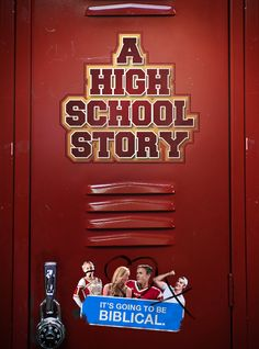 #2295. A HIgh School Story, May, 2021. The new kid in school, Derek Lane, the youngest of five football playing brothers, as he meets ex-cheer captain and aspiring dancer, Emma Scott. Between the self proclaimed queen of the school Alexis Silvestri, the star quarterback Kyle Quade, and a pair of quirky friends, Faye Triggs and Jason Quade, life in high school isn't just epic It's going to be Biblical. High School Story, In High School, Cheer Captain, Temporary Storage, New Kids, Dancer, Neon Signs, Football, Queen