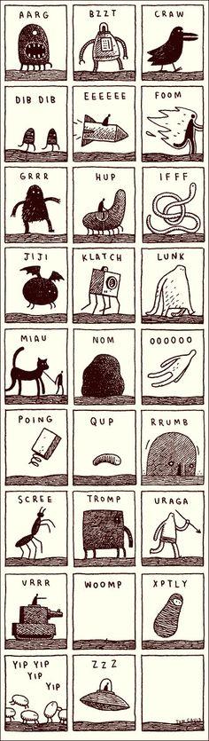Noisy Alphabet: