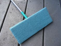 Free knitting pattern for Swiffer cover tba