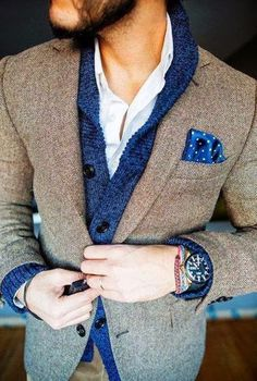 Men Fashion Trends 2014 - Strong look for work. www.mediasquarerecruitment.co.uk Always adding to my wardrobe collection.