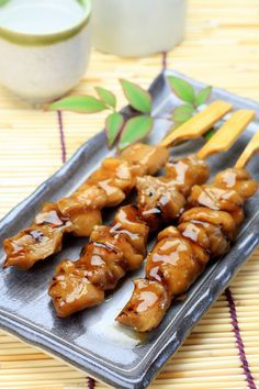 Yakitori chicken by chef thierry marx the recipe on the gourmet of.