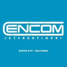 "Encom International – Center City – California. Inspired by the 2010 movie ""TRON: Legacy"". #tshirt #movie #art"