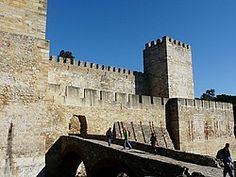 Castillo de San Jorge - Situado en la colina de San Jorge, Lisboa