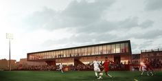 Sports Facility / sam architecture