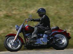 Fondo de Harley Davidson en carretera