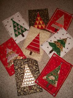 Christmas Quiltettes - via @Craftsy