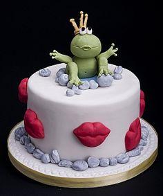 The frog prince cake