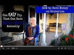 How to Save Money On Groceries: One Easy Step That Can Save You $300-$500 Annually {Homeschooling families - that's a lot of $ to add to your curriculum budget!!}