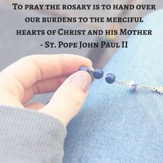 Marian Graces provides stunning Catholic rosaries and chaplets designed to deepen your prayer life. Specialising in bronze rosaries, there is something to suit every price range. Praying The Rosary Catholic, Holy Rosary, Catholic Prayers, Catholic Saints, Rosary Quotes, Catholic Quotes, Pape Jean Paul Ii, God Prayer, Rosary Prayer