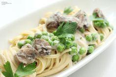Vegan Carbonara Linguini