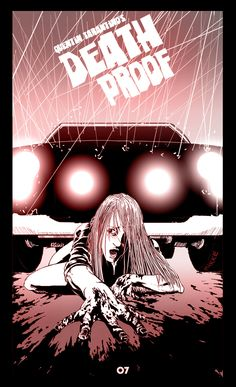 Death Proof. I think this is my favorite poster for it