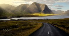 Iceland roads - all to myself. | by frank_delargy |...