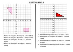 Reflection worksheets