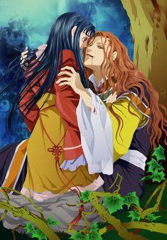 The story of Saiunkoku colored by kanogt on DeviantArt Me Me Me Anime, Anime Guys, Saiunkoku Monogatari, Japon Illustration, Natsume Yuujinchou, Fanart, Shoujo, Anime Manga, Art Drawings