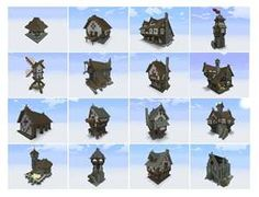 Medieval Minecraft House Designs