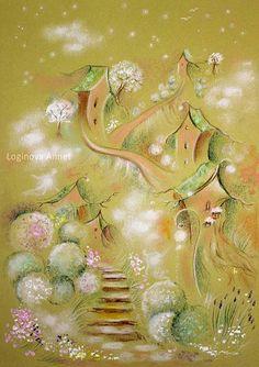 """""""Elven Garden"""" par Annet Loginova"""