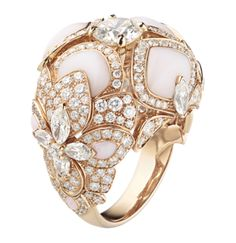 Diamonds and Opals galore - the most beautiful ring I ever saw...  High Jewellery Chaumet | Chaumet Hortensia ring - 082307