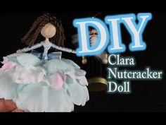 DIY Nutcracker Doll - How To Make Clara From The Nutcracker - YouTube
