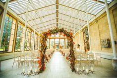 Kirsty & Martyn's Autumn Wedding at Kew Gardens - Wedding Photographs by John Alexander Photography