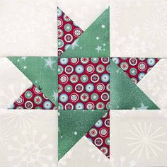 Easy Quilt Blocks Make Patchwork Fun- Completed Star of Hope block