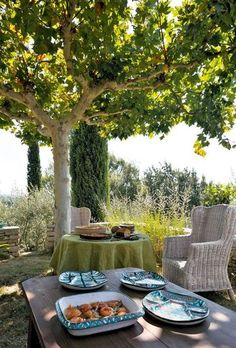 Jardin Bastide des Alpes-de-Haute-Provence Haute Provence, Provence France, Love Garden, French Countryside, Al Fresco Dining, French Country Style, South Of France, Plein Air, Outdoor Entertaining