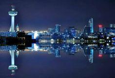 Liverpool Liverpool Waterfront, Liverpool City, New York Skyline, Heart, Hearts