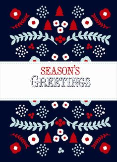 personalize this holiday florals card card templates holiday cards hanukkah winter holidays - Holiday Card Templates
