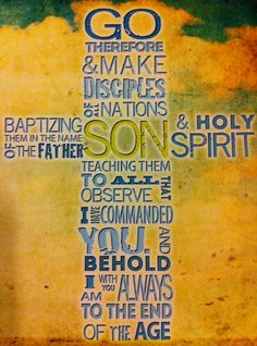 Matthew 28:19-20 #Disciples #Jesussays #bibleverse