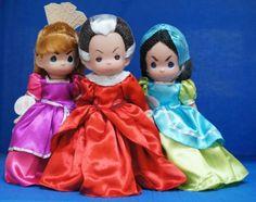 Cinderellas-Drizella-Anastasia-Lady-Tremaine-3-Doll-Set-Disney-Precious-Moments
