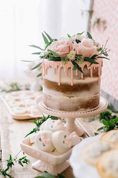 Boho Pins: Top 10 Pins of the Week - Cake. We love cake here at Boho, Birthday c. Boho Pins: Top 10 Pins of the Week – Cake. We love cake here at Boho, Birthday cake, celebartion Cake Mix Cookies, Cake Pops, Jenny Cookies, Nake Cake, Gateau Baby Shower, Bolo Cake, Birthday Cake Decorating, Cake Birthday, Birthday Ideas