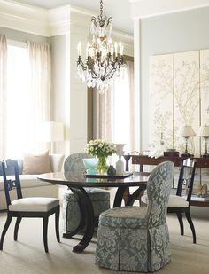 Acquisitions Paris by Henredon Dining Room Furniture Sets Dining Room
