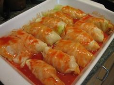 Not So Stupid Thursday: Cabbage Rolls just like Bubby used to make!!