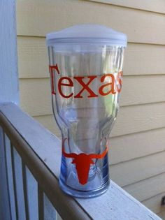 University of Texas Beer2Go Tumbler