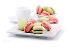 M. by bodza  IFTTT 500px caffee color dessert food green macarons pink sweet