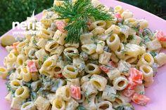 Nefis Makarna Salatası