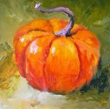 Image result for painting pumpkin still life