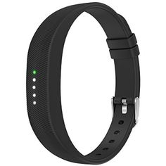 Simpeak Silicone Replacement Band Strap for Fitbit Flex 2, with Stainless Steel Buckle and Fastener * Check this awesome product by going to the link at the image. (This is an affiliate link) #Accessories