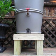 Rain Barrel Company Chesapeake Rain Barrel Stand