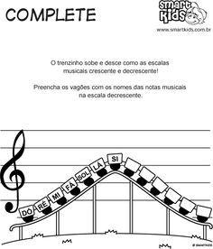 Notas Musicais Complete - Passatempos - Smartkids
