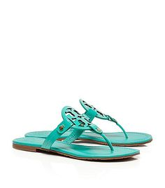 Tory Burch Miller Sandal - Turquoise