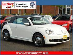 Let the top down in this 2016 Volkswagen Beetle Convertible 1.8T Denim Convertible.