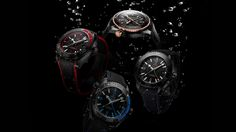 Omega Seamaster Planet Ocean GMT Deep Black Watches In Ceramic Watch Releases Omega Seamaster Planet Ocean, Omega Planet Ocean, Breitling Colt, Omega Seamaster Automatic, Omega Seamaster Professional, Ocean Deep, Gold Models, Black Models, Luxury Watches