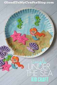 Simple Under The Sea - Kid Craft