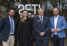 Princess Stephanie and Guillaume visited SETI Institute
