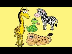 Zoo song with lyrics - kids love to sing along and see their favorite animals - monkeys, elephant, giraffe, seals, rhinos & more! Zoo Songs, Kids Songs, Kindergarten Music, Preschool Music, Zoo Crafts, Animal Crafts, Zoo Animal Activities, Preschool Zoo Theme, Zany Zoo
